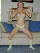 lady, panties, pantyhose, socks
