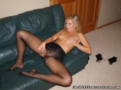 black, pantyhose, pussy