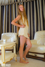 pretty teen blonde with