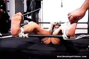 Bondaged brunette is afraid of her sexua - XXX Dessert - Picture 9