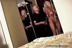 Big-breasted blonde chick bravely suffer - XXX Dessert - Picture 9