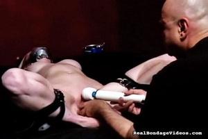 Bondaged plump blonde suffers the tortur - XXX Dessert - Picture 13