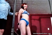 vibrator helps bondaged and