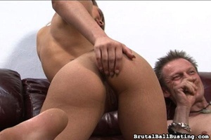 Astonishing busty babe attacks small dic - XXX Dessert - Picture 10