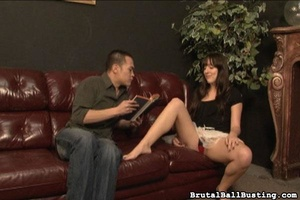 Crazy Asian man worships hottie and need - XXX Dessert - Picture 1