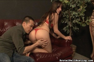 Crazy Asian man worships hottie and need - XXX Dessert - Picture 2