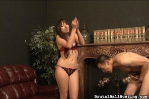 Crazy Asian man worships hottie and need - XXX Dessert - Picture 4
