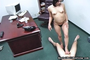 Brunette babe touches her boss's penis r - XXX Dessert - Picture 10