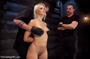 Blonde honey toyed by two creeps wearing - XXX Dessert - Picture 4