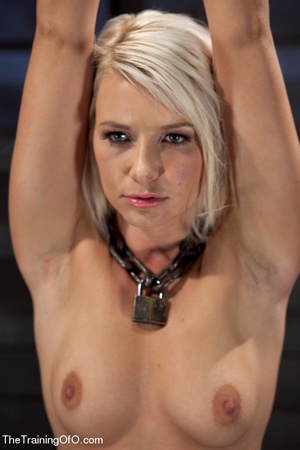 Helpless blonde whipped and waxed by a f - XXX Dessert - Picture 4