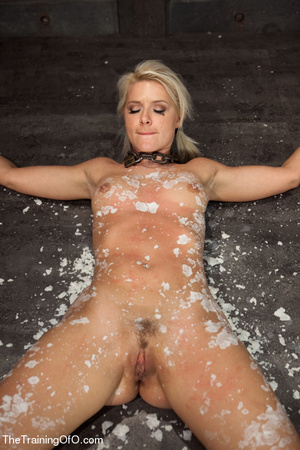 Helpless blonde whipped and waxed by a f - XXX Dessert - Picture 10