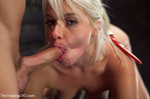 Sweet blonde fucked like a whore in susp - XXX Dessert - Picture 13