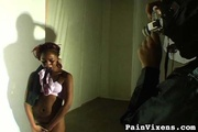 tied black gal with