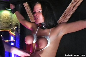 Young brunette bitch gets dominated by h - XXX Dessert - Picture 8