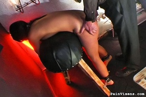 Spanking and a naughty tits treatment fo - XXX Dessert - Picture 4