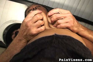 Tall black goddess with big boobs gets c - XXX Dessert - Picture 10
