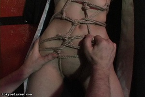 Asian slut gets tied up and humiliated i - XXX Dessert - Picture 10