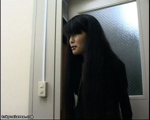 Japanese lady in bondage gets her pussy  - XXX Dessert - Picture 1