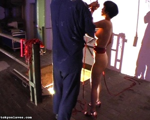 Hot model in bondage is ready for a love - XXX Dessert - Picture 10