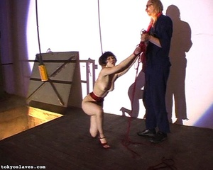 Hot model in bondage is ready for a love - XXX Dessert - Picture 14