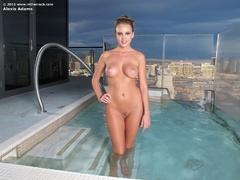 erotica, legs, pool, pussy