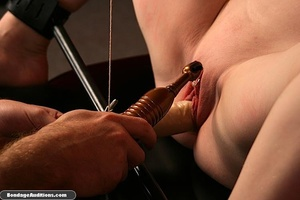 Tied up gal gets spanked and drilled wit - XXX Dessert - Picture 13