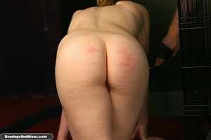 Caged darling is ready for a nasty dildo - XXX Dessert - Picture 4