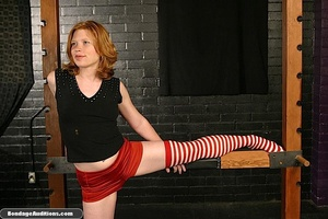 Good looking girl gets spanked and her n - XXX Dessert - Picture 1