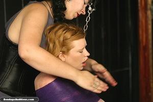 Sweet little tied up gal gets a nice wax - XXX Dessert - Picture 4