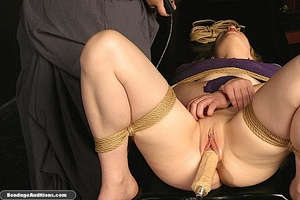 Sweet little tied up gal gets a nice wax - XXX Dessert - Picture 6