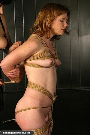 Submissive little slut sucks a huge dild - XXX Dessert - Picture 9