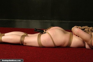 Submissive little slut sucks a huge dild - XXX Dessert - Picture 12
