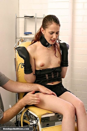 Cute brunette model likes clothespins on - XXX Dessert - Picture 3