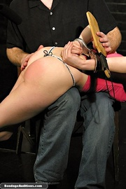 big dildo and spanking