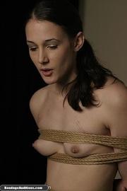 beautiful lady bondage sucks