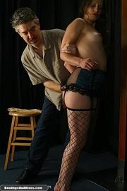 hot slut pantyhose gets