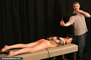 Innocent looking chick gets tied up and  - XXX Dessert - Picture 11