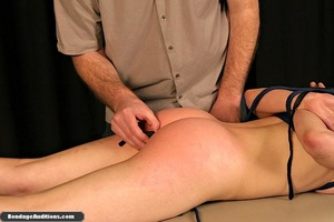 Innocent looking chick gets tied up and  - XXX Dessert - Picture 14