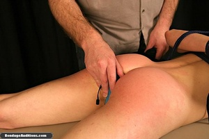 Innocent looking chick gets tied up and  - XXX Dessert - Picture 15
