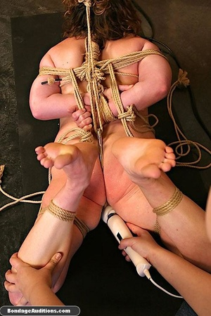 Cutie gets tied up really tight by a cru - XXX Dessert - Picture 14