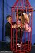 slender caged darling gets