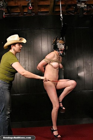 Young chick gets used and abused by her  - XXX Dessert - Picture 9