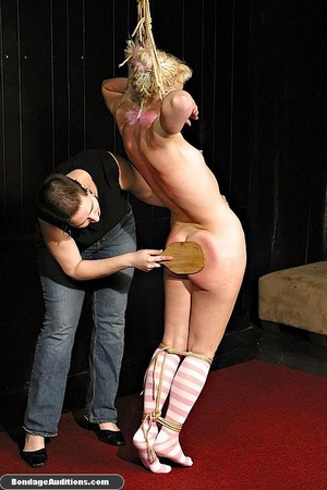 Blonde bunny gets gagged and used by her - XXX Dessert - Picture 8
