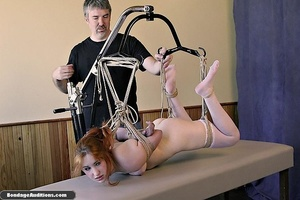 Redhead sweetie gets tied up and drilled - XXX Dessert - Picture 14