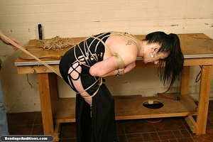 Fucking machine and a caning session for - XXX Dessert - Picture 4