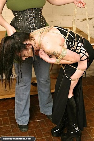 Fucking machine and a caning session for - XXX Dessert - Picture 5