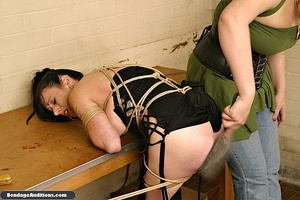 Fucking machine and a caning session for - XXX Dessert - Picture 9