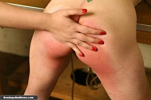 Fucking machine and a caning session for - XXX Dessert - Picture 14