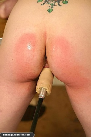 Fucking machine and a caning session for - XXX Dessert - Picture 15