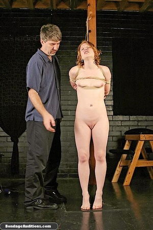 Tied up in ropes and spanked, she loves  - XXX Dessert - Picture 14